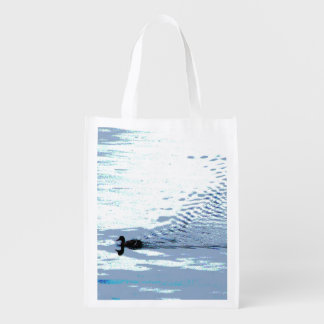 Pato y ondulaciones bolsas de la compra