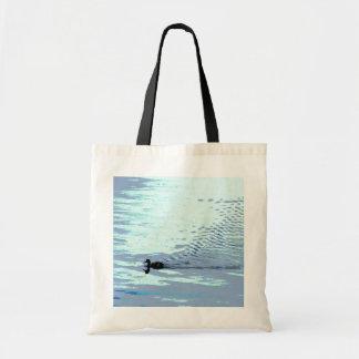 Pato y ondulaciones bolsas