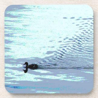 Pato y ondulaciones posavasos