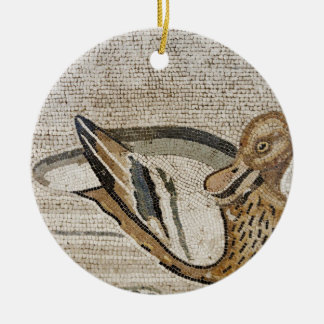 Pato y pájaro, mosaico del Nilo, casa del fauno Adornos De Navidad