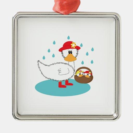 Pato y su ejemplo de los anadones ornamente de reyes