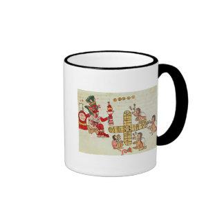 Patoli de juego y dios tazas de café