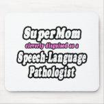 Patólogo de la Discurso-Lengua del SuperMom… Tapete De Ratones
