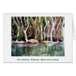 Patonga Creek Reflections, Patonga, NSW Greeting Card