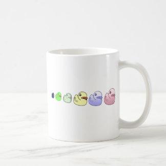¡Patos alineados! Taza Clásica