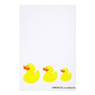 patos amarillos  papeleria de diseño
