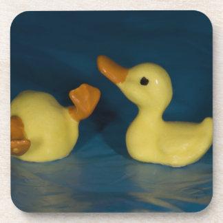 Patos de cerámica posavasos