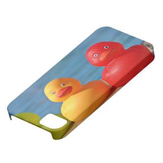 Patos de goma coloridos funda para iPhone 5 barely there
