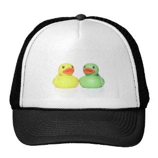 Patos de goma gorras