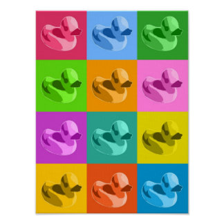 Patos de goma posters