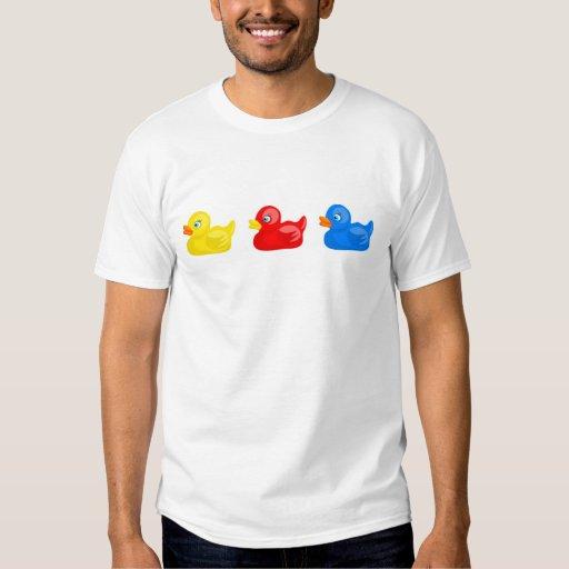Patos de goma remeras