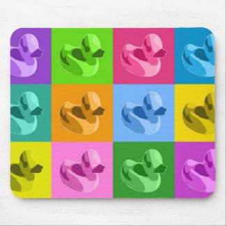 Patos de goma alfombrilla de ratón