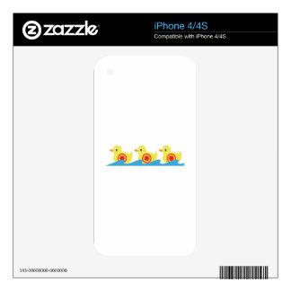 Patos de la galería de tiroteo skins para eliPhone 4