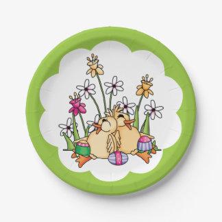 Patos de Pascua Platos De Papel