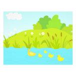 Patos de Quacking Membrete Personalizado