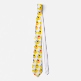 Patos del caucho del *Yellow Corbatas Personalizadas