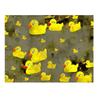 Patos del Grunge Postales