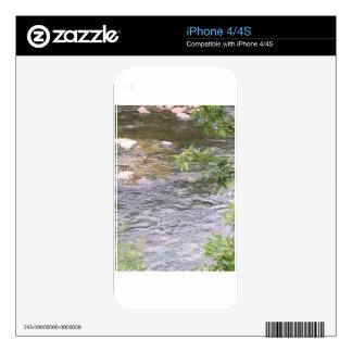 Patos del río calcomanías para el iPhone 4