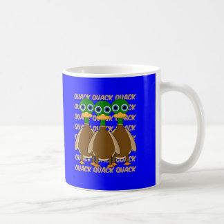 patos divertidos taza