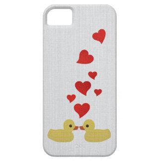 Patos en amor iPhone 5 Case-Mate cobertura