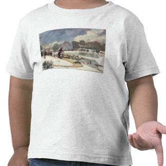 Patos en el Bois de Boulogne Camisetas