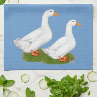 Patos:  Pekins blanco Toalla De Cocina