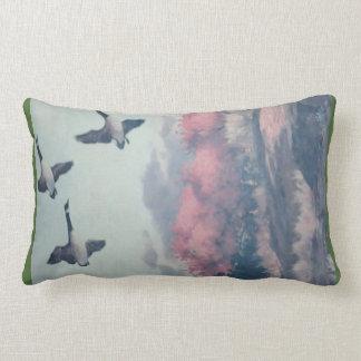 Patos que vuelan la almohada