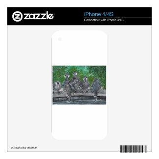 Patos Skins Para eliPhone 4