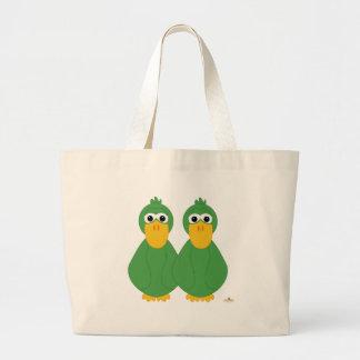 Patos verdes torpes bolsa