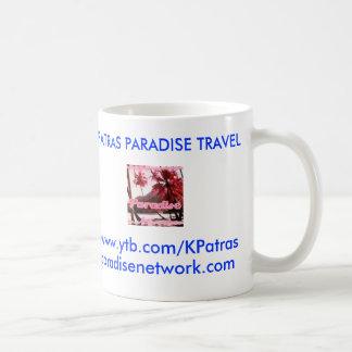 Patras Paradise Travel Coffee Mug