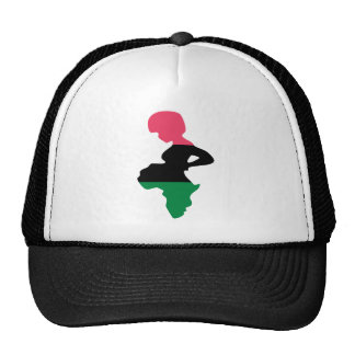 Patria África Gorros Bordados
