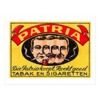 Patria Tabak Postales