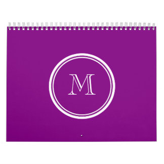 Patriarch Purple High End Colored Calendar