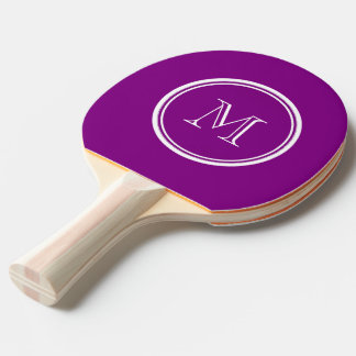 Patriarch Purple High End Colored Ping-Pong Paddle