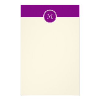 Patriarch Purple High End Colored Stationery