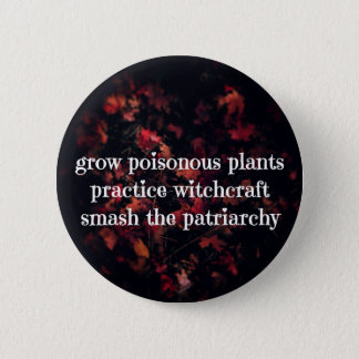 Patriarchy Spells Pinback Button