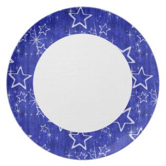 Patriatic Stars Plate