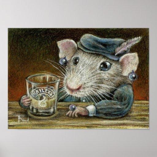 Patricia la impresión de la rata impresiones