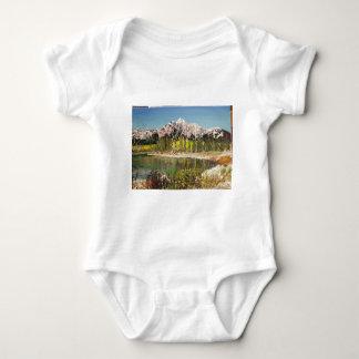 Patricia Lake Painting Baby Bodysuit