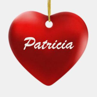 Patricia Ornament Heart