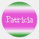 Patricia Pegatina Redonda