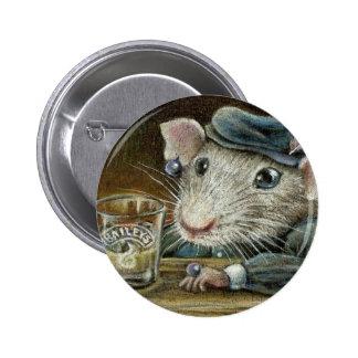 Patricia the rat button