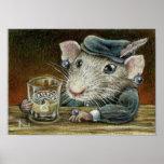 Patricia the rat print