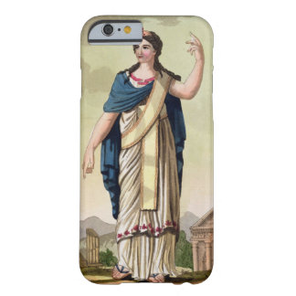 Patrician Woman, No. 26 from 'Antique Rome', engra Barely There iPhone 6 Case