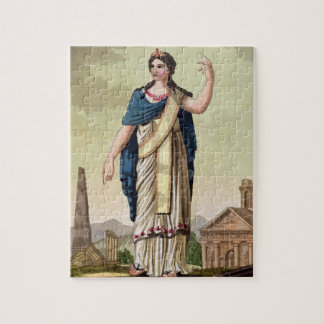 Patrician Woman, No. 26 from 'Antique Rome', engra Puzzle
