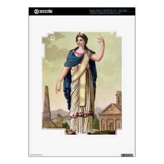 Patrician Woman, No. 26 from 'Antique Rome', engra Skin For iPad 3