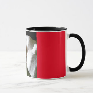 patriciapotluck garlic bulb mug red