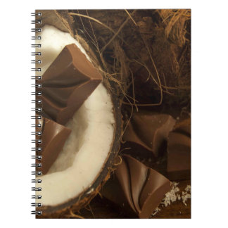 Patriciapotluck Raw Coconut Chocolate Notebook