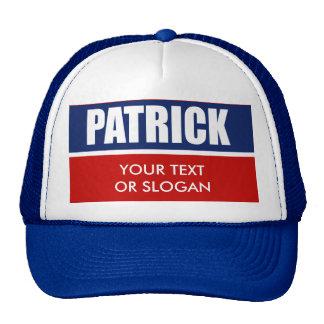 PATRICK 2010 TRUCKER HAT
