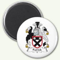 Patrick Family Crest Magnet